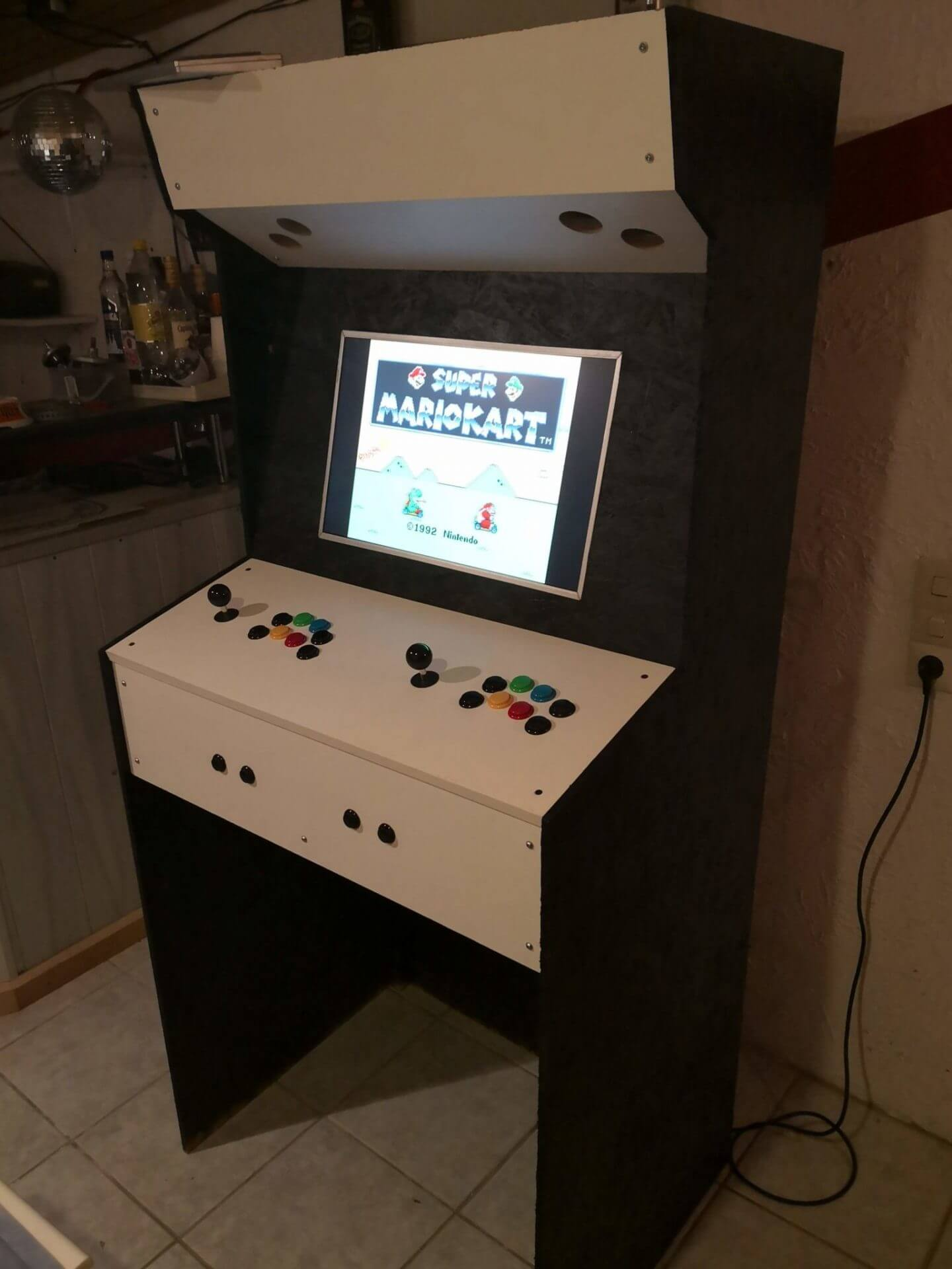 Arcade Game-Station mit Raspberry Pi und Retropie