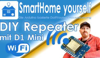 WLAN Repeater/AP mit WeMos D1 Mini