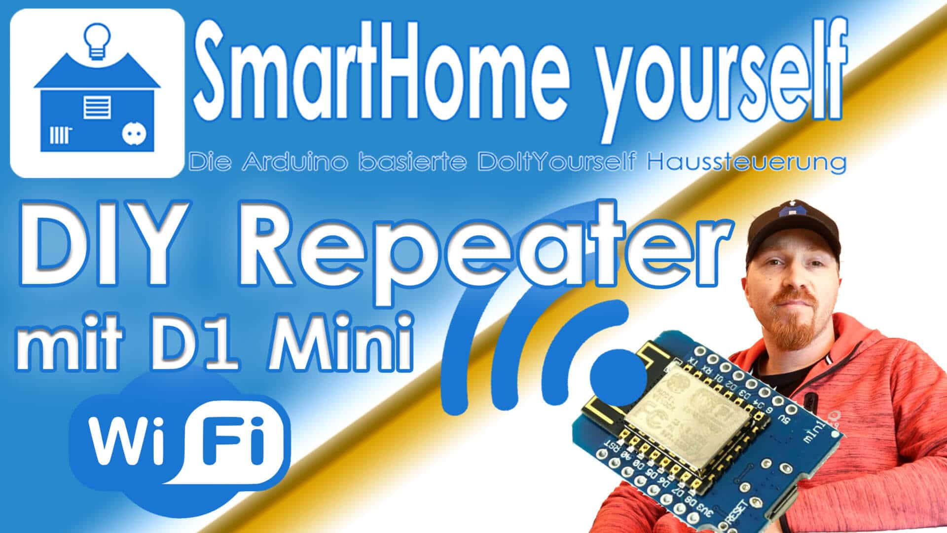 WLAN Repeater mit WeMos D1-Mini