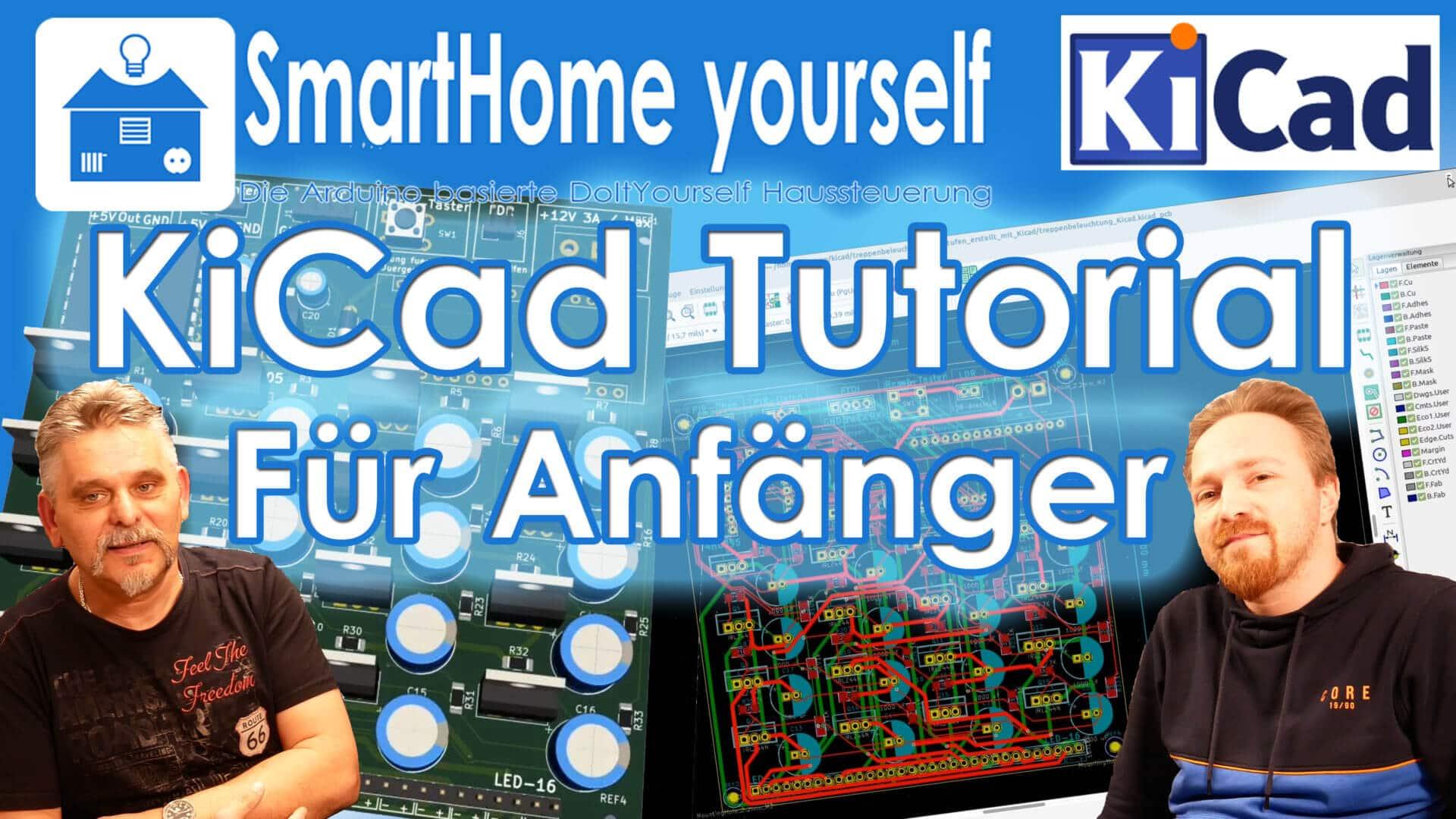 KiCad Tutorial für Anfänger - PCBs selber herstellen
