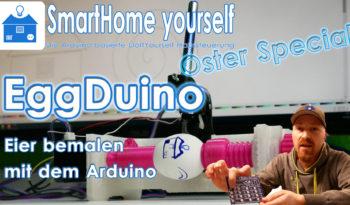 Eier bemalen mit dem Arduino