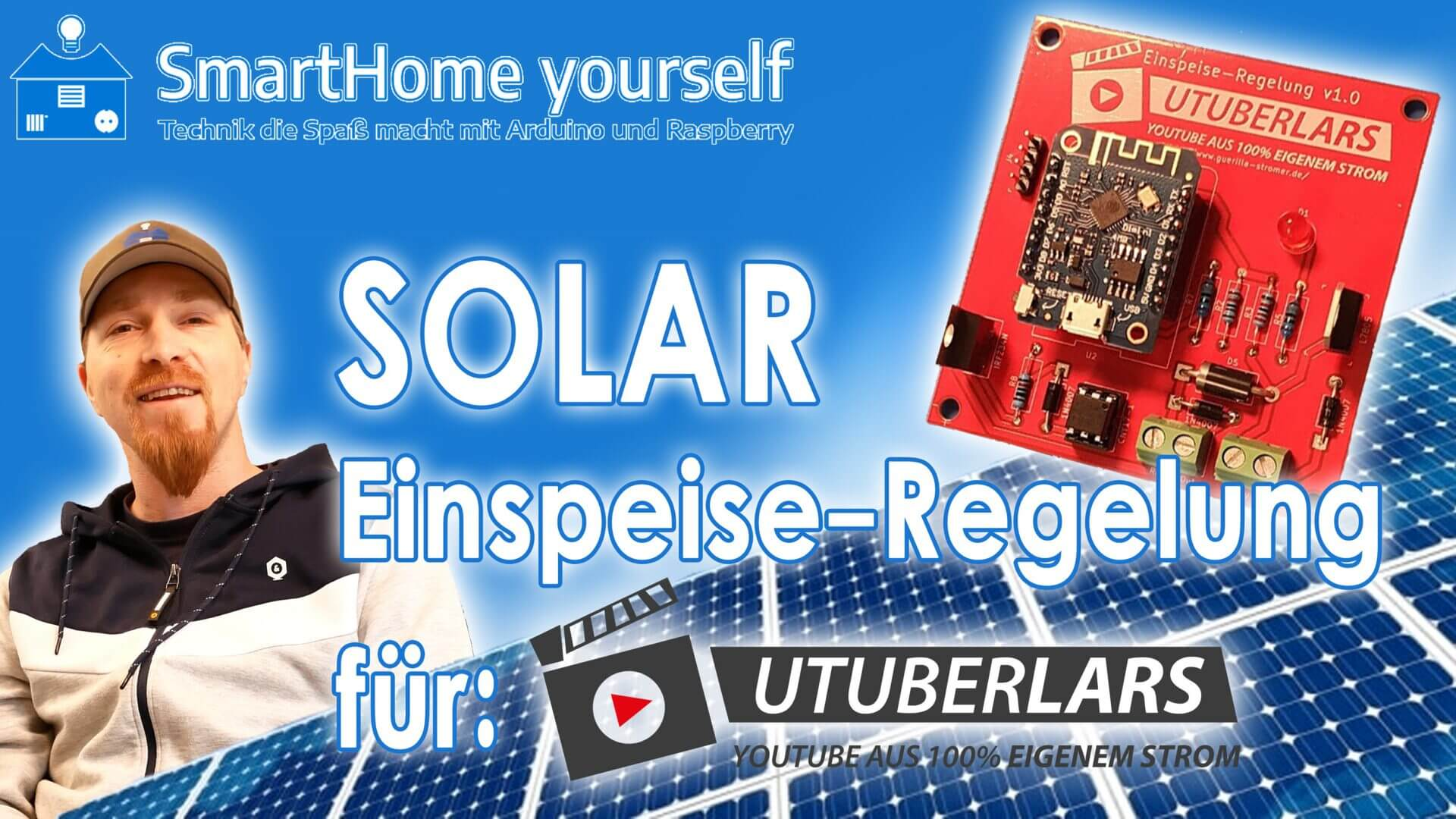 Solar Einspeise-Regelung (UTuberLars)