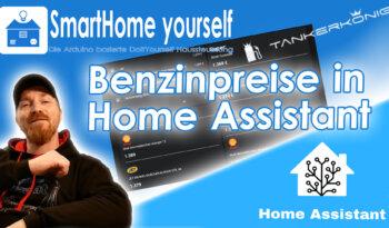 Benzinpreise in Home Assistant sortiert anzeigen