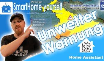 Unwetterwarnungen in Home Assistant